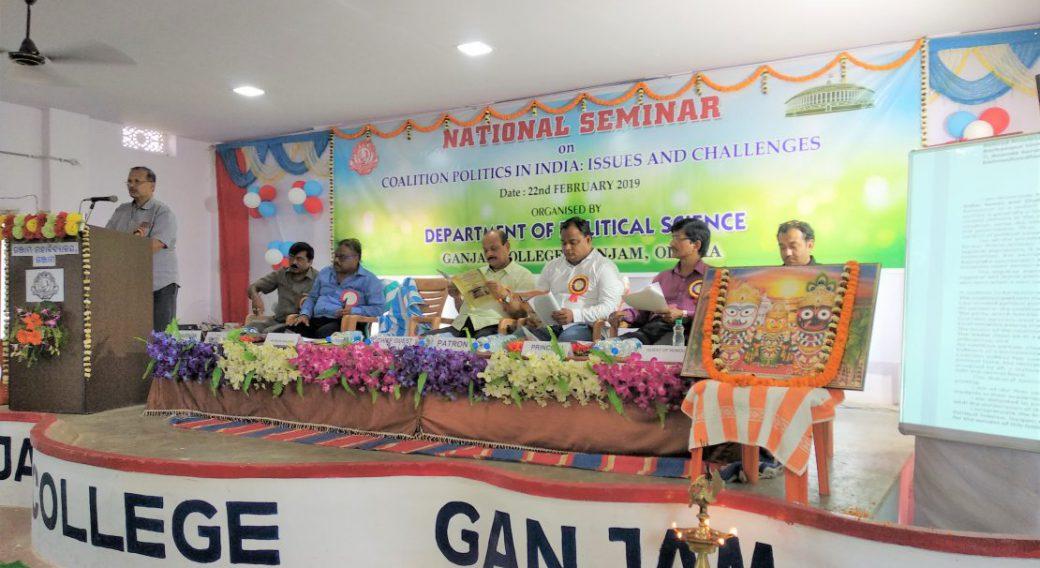 Prof Bishnu Choudhury @ Pol Sc Sem 2019 (2)