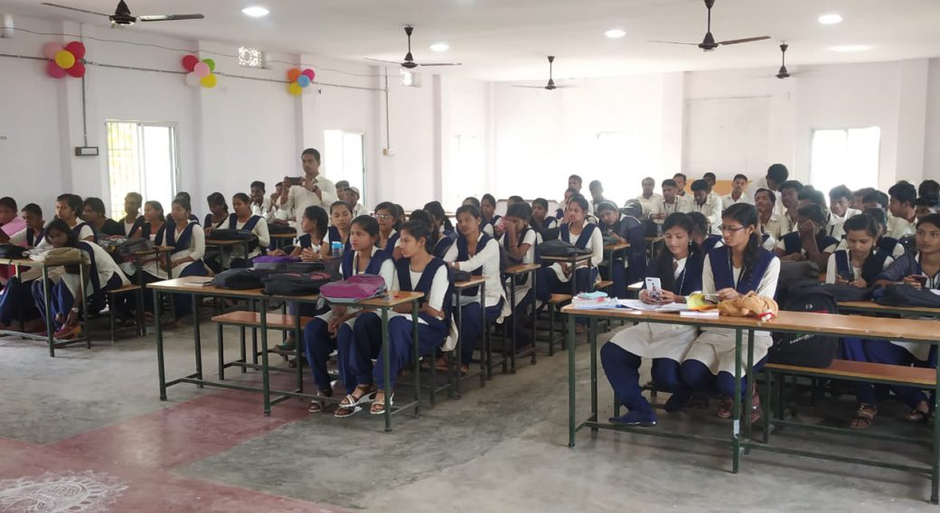 Pol Sc Students in during a Seminar 2019